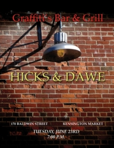 H&D @ Grafitti's June 23, 2015