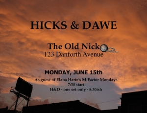 H&D Old Nick poster